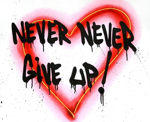 Mr Brainwash - Speak From The Heart - Never Never Give Up!