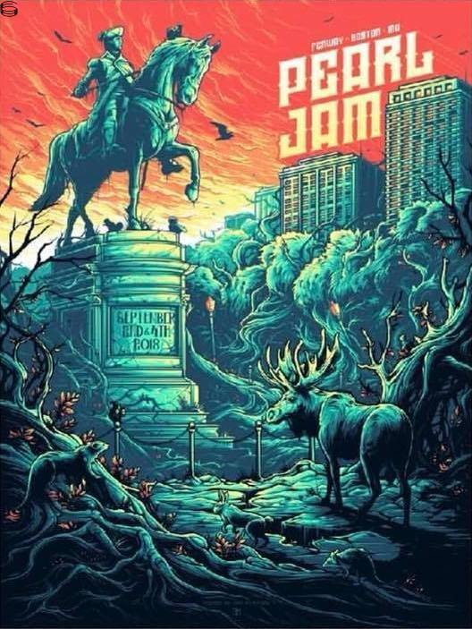 Dan Mumford - Pearl Jam Boston 18 - Show Edition