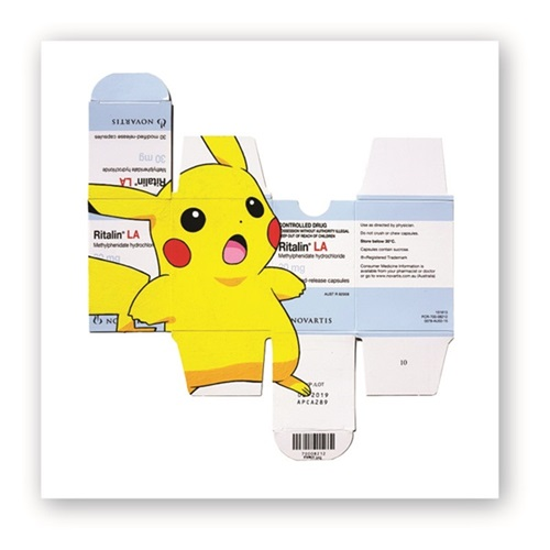 PIKACHU ON RITALIN