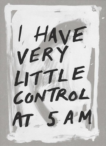 I Have Very Little Control