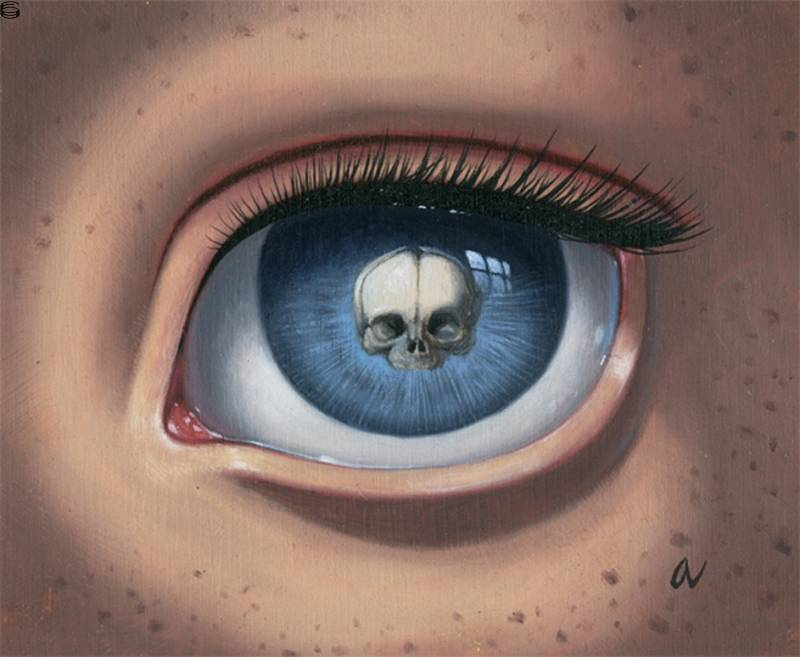 Skeleton Eye (Blue) 11
