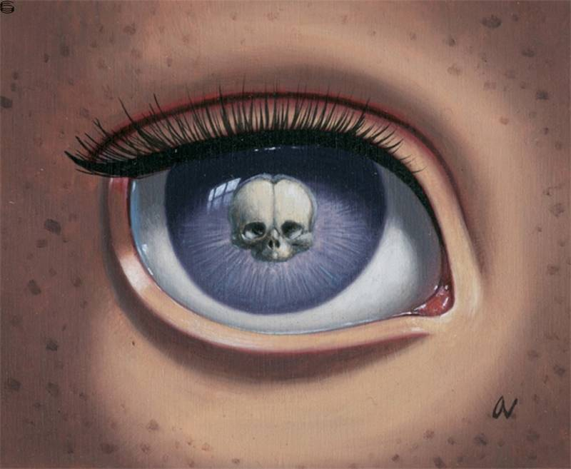 Skeleton Eye (Purple) 11