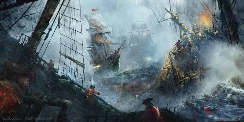 The Naval Battle