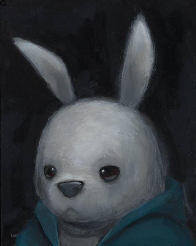 Luke Chueh - Bunny in Blue - First Edition