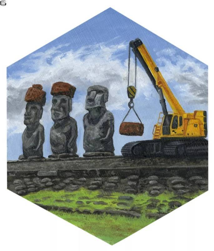 Constructing Easter Island