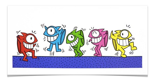 Dancing In A Haring Style