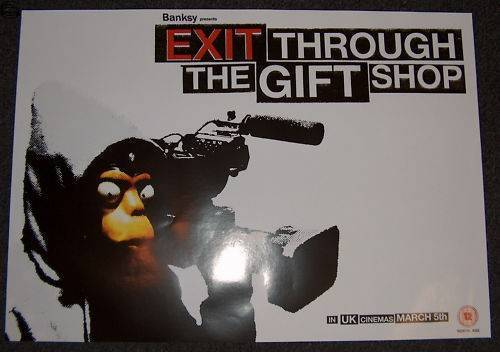 Exit Through the Gift Shop UK A2