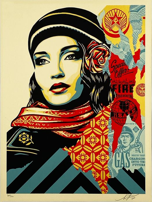 Shepard Fairey - Fire Sale - First Edition