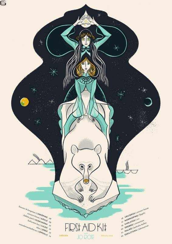 First Aid Kit Sweden Tour