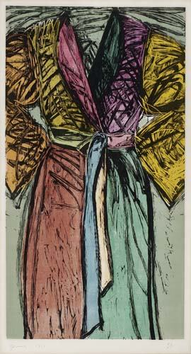 Fourteen Color Woodcut Bathrobe (D'Oench/Feinberg 112)