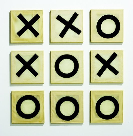 Tic-Tac-Toe, Tae-Kwon-Doe (KIPPENBERGER Multiples 41, pp.80-1)