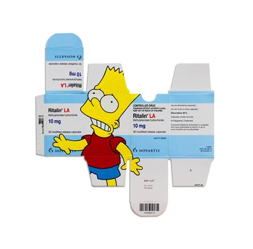 Bart On Ritalin
