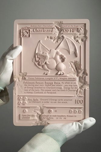 Crystalized Charizard Card