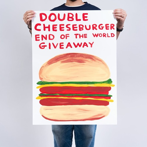 Double Cheeseburger End Of The World Giveaway